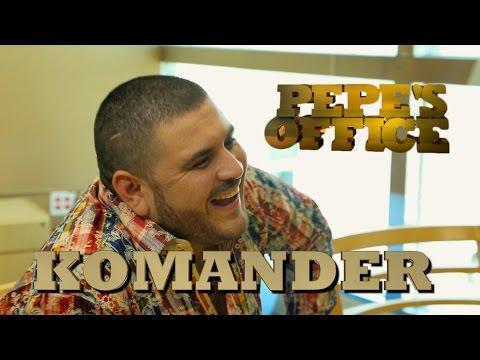 EL KOMANDER VISITA A PEPE GARZA - Pepe's Office - Thumbnail