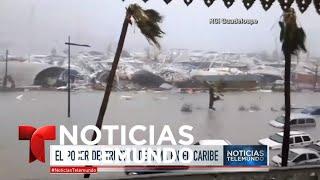 Huracán Irma azota a Puerto Rico