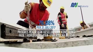 Video Kemajuan Proyek MRT Jakarta per 31 Juli 2017 MP3, 3GP, MP4, WEBM, AVI, FLV Agustus 2017
