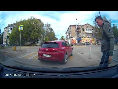 Авария с блондинков в Перми