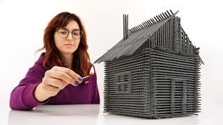 Video How to Build House From Sparklers Without Glue MP3, 3GP, MP4, WEBM, AVI, FLV Februari 2019