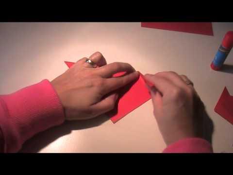 Anleitung Origami – Vorlage Katze falten