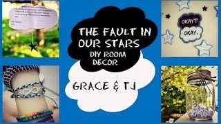 The Fault In Our Stars Inspired Room Decor/ DIY Crafts!|| Grace&TJ