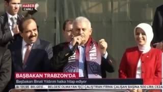 """Binali Yıldırım: """"Trabzonspor'un Stadyumu Bitti."""""""