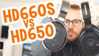 Headphone Shootout! Sennheiser HD660S vs HD650