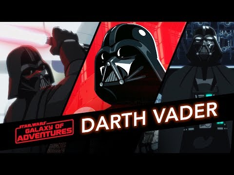 Darth Vader - Path Of The Dark Side | Star Wars Galaxy Of Adventures