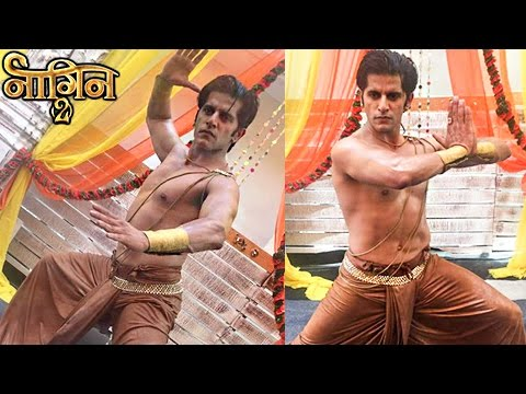 Karanvir Bohra aka Rocky Performs Tandav In Naagin