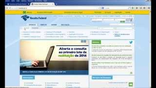 Vídeo ensinando como consultar a restituição do Imposto de Renda. Site: http://www.receita.fazenda.gov.br Link direto: http://www.receita.fazenda.gov.br/Apli...