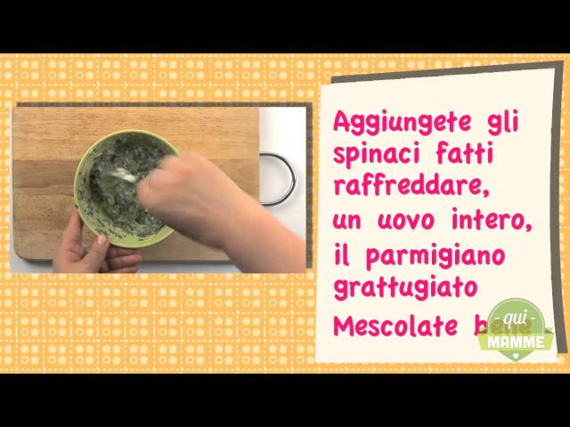Polpettine gustose di spinaci