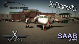 Announcing an all-new product for X-Plane 10 - The Saab 340A developed by Leading Edge Simulations and Published by ...