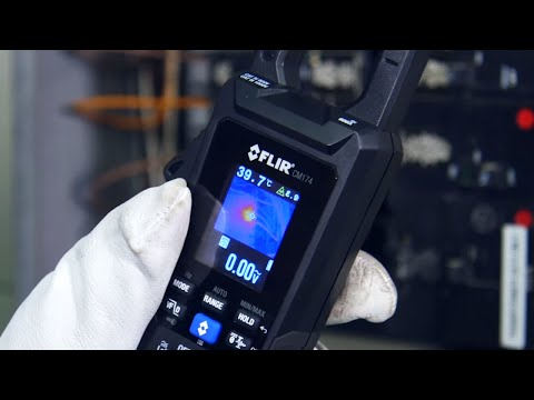 Thermal Imaging Clamp Meter | FLIR CM174