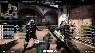 ESEA Premier Season 25 Europe | Planetkey Dynamics VS Bpro | By Tonik