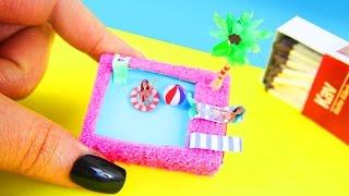 Video DIY Miniature Matchbox Dollhouse Pool Tutorial - simplekidscrafts MP3, 3GP, MP4, WEBM, AVI, FLV Juni 2019