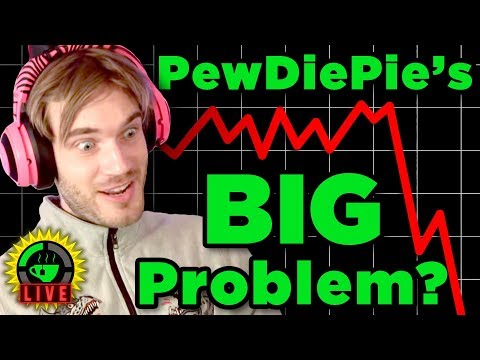 GTeaLive: Is PewDiePie's Channel In Trouble?