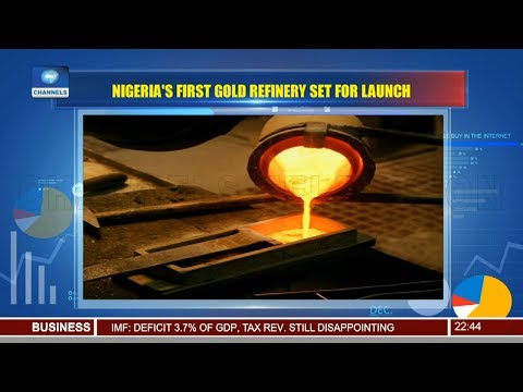 Nigeria's First Gold Refinery Set For Launch Pt.3 12/12/18 |News@10|
