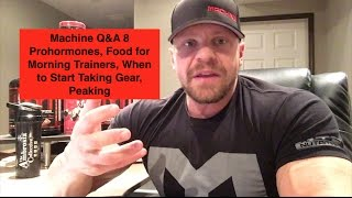 Marc Lobliner addresses:1) Will MTS Nutrition make Prohormones?2) What to eat if you train first thing in the morning3) When to start taking gear if you want to be an IFBB pro4) Peaking for a bodybuilding show5) Top 5 things I would tell myself at 20-25 years old6) Drop Factor and thyroid support7) Most valuable lesson learned from bodybuilding8) Blasting and cruising9) MTS Nutrition CLASH restock10) Carb cycling and fasting11) DHEA benefits12) Insurgent to AustraliaSupport Marc and Shop at http://www.tigerfitness.comSubscribe to this channel now! http://youtube.com/tigerfitness Related Videos:Does Having Sponsored Athletes Make a Company Legit?: https://www.youtube.com/watch?v=g8wAO5F6RTwI Like Smith Machine Squats and I Don't Give a F#CK!: https://www.youtube.com/watch?v=FXnyjDetZi4Truth About Instagram Famous Athletes: https://www.youtube.com/watch?v=4KDKPKdByik&t=1sFacebook: http://www.facebook.com/tigerfitness and http://www.facebook.com/tigerfitnessonlineTwitter: https://twitter.com/MarcLobliner and https://twitter.com/tigerfitnesscomInstagram: https://www.instagram.com/marclobliner/ and https://www.instagram.com/tigerfitness/ I am Marc Lobliner, CEO of MTS Nutrition. MTS Nutrition is more than just a supplement line to me. It's my story. It has a meaning and a purpose. Each MTS Nutrition product embodies my passion for health and fitness, and echoes the struggles of my past and the lives that my products help to change on a daily basis.  Business Inquiries: Email marc@mtsnutrition.com