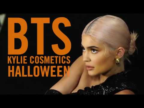 Kylie Behind the Scenes - Halloween Collection