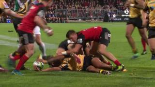 Crusaders v Force Rd.5 Super Rugby Video Highlights 2017