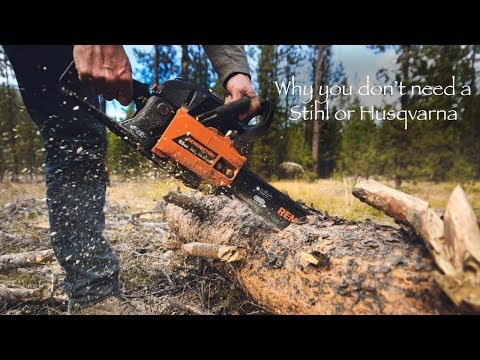 Winter Camping Chainsaw Tips for Beginners