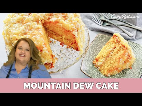 How to Make Mountain Dew Cake