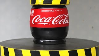 Video EXPERIMENT HYDRAULIC PRESS 100 TON vs COCA COLA MP3, 3GP, MP4, WEBM, AVI, FLV September 2018