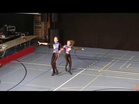 Polyánki Benedek (Rók and Roll SE) - Fórián Kata * Acrobatic R'N'R World Championship 2018 * Juniors