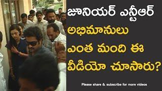 Video Telugu Top Hero Junior NTR with Family in Tirumala rare exclusive video MP3, 3GP, MP4, WEBM, AVI, FLV Januari 2019