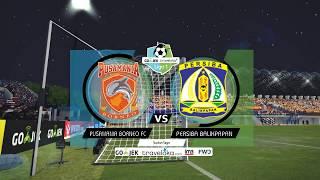Video Gojek Traveloka Liga 1 | Pusamania Borneo FC vs Persiba Balikpapan | PES 2017 MP3, 3GP, MP4, WEBM, AVI, FLV November 2017