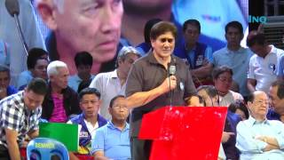 Honasan: Binay to mend wounds brought about by too much politics