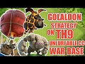 NEW STRATEGY TO THREE STAR AN UNLUREABLE TH9 WAR BASE