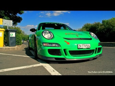 sportec - Like on Facebook: http://on.fb.me/Gumbal I recorded an amazing green Porsche 997 GT3 RS tuned by the Swiss tuning company Sportec. As you can see, the body l...