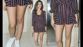 Nidhi Agarwal Hot Toned Legs Show At Munna Michael ScreeningFor More Bollywood Updates  SUBSCRIBE To Bollywood Junkie.https://www.youtube.com/user/BollywoodJunkiie