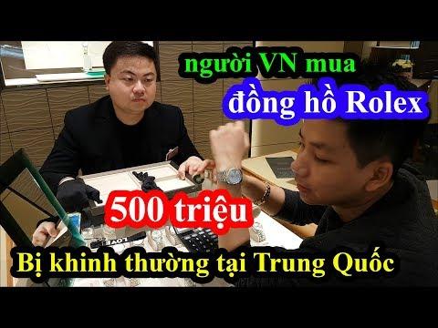 Giả nghèo cầm 500 triệu vào mua đồng hồ Rolex tại Thượng Hải và cái kết quá nhục nhã - Thời lượng: 19:41.