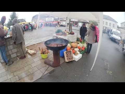 braseros mexicains au marché de boussac 30 novembre 2017