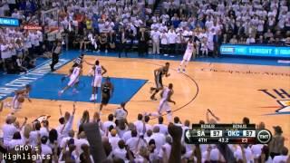 Spurs vs Thunder: Game 6 Highlights 2014 Western Conference Finals