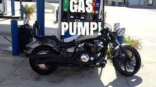 8. How To Pump Gas In The Yamaha Stryker