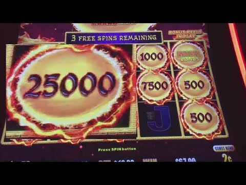 MY BIGGEST FIREBALL ON DRAGON LINK! 2 CENT DENOM $10 BET!