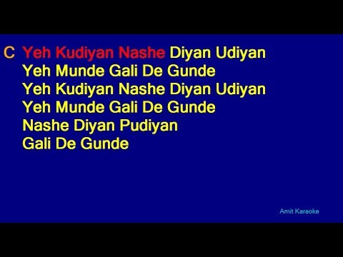 Mehndi Laga Ke Rakhna - Udit Narayan Lata Mangeshkar Duet Hindi Full Karaoke With Lyrics