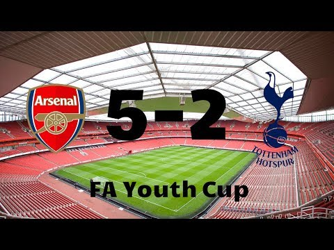 Arsenal 5-2 Tottenham | FA Youth Cup