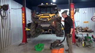 8. Can Am Commander gets Evans Waterless Coolant!  PowerModz!