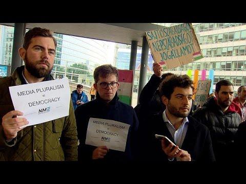 Διαμαρτυρία υπέρ της ελευθερίας του τύπου