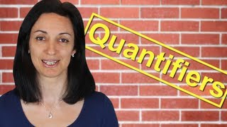 Quantifiers, Much or Many, Few or Little, English Quantifiers Lesson