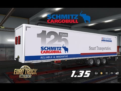Pack trailer SCHMITZ 1.35