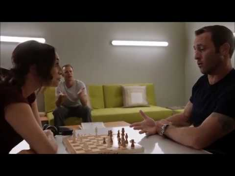 Hawaii Five-0 8x09 McDanno Scenes Part 3 - Steve and Tani Play Chess