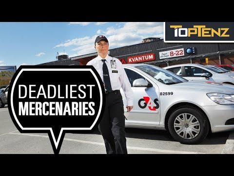 10 Elite Mercenary Forces Of The Modern World