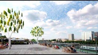 Abre à Vent, primer árbol eólico en París