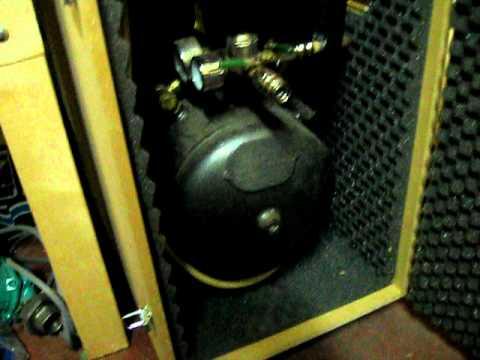 Insulated compressor box