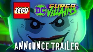 Official LEGO DC Super-Villains Announce Trailer