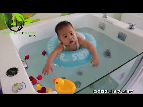 Bơi thủy liệu cho bé - Baby Float
