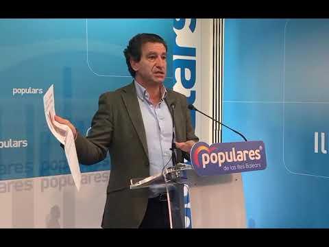 Company pide a Armengol si ya ha reclamado a Sánchez las demandas de Balears cifradas en 8.000 millones